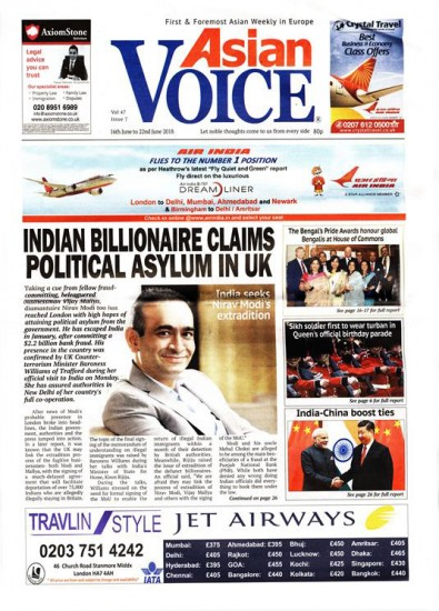 Asian Voice Newspaper Subscription
