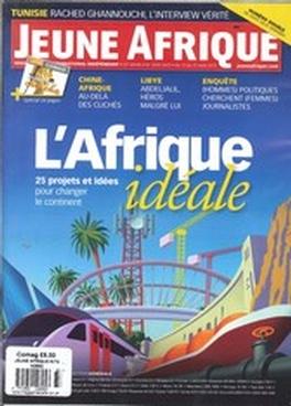 Jeune Afrique Lintellige Magazine Subscription