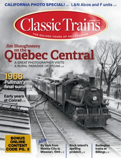 Classic Trains Magazine Subscription