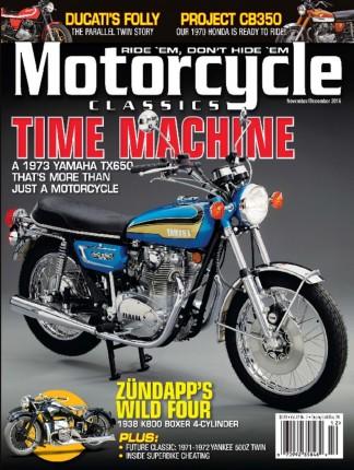 Motorcycle Classics Magazine Subscription