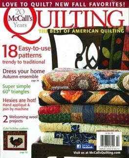 McCalls Quilting Magazine Subscription
