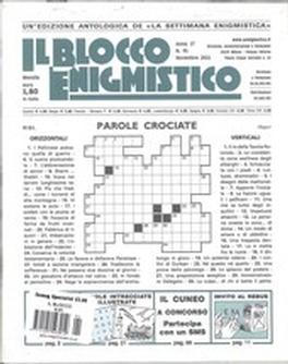 IL BLOCCO ENIGMISTICO Magazine Subscription