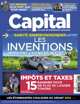 CAPITAL-FRENCH Magazine Subscription