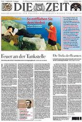 Die Zeit Weekly Magazine Subscription