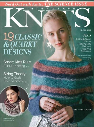 Interweave Knits Magazine Subscription