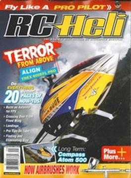 RC HELI Magazine Subscription