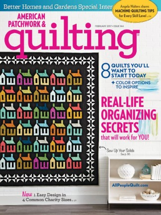 American Patch and Quilt Magazine Subscription