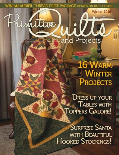Primitive Quilts Magazine Subscription