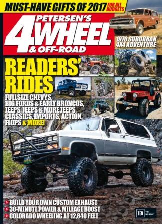 4 WHEEL OFF ROAD Magazine Subscription