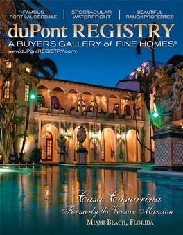 Dupont Registry Homes Magazine Subscription