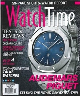 Watchtime Magazine Subscription