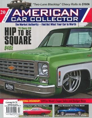 American Car Collector Magazine Subscription