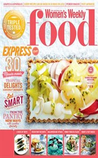 AUSTRALIAN WOMENS WEEKLY FOOD Magazine Subscription