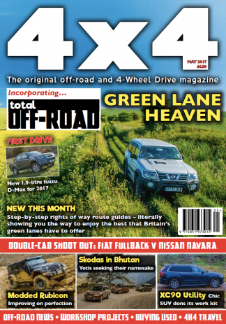 4x4 Magazine incorporating Total Off-Road Magazine Subscription