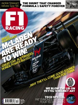 F1 Racing Magazine Subscription