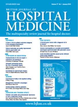 British Journal of Hospital Medicine Magazine Subscription