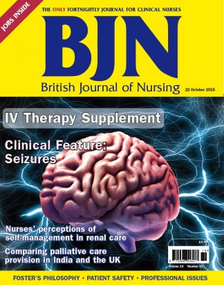 British Journal of Nursing Magazine Subscription