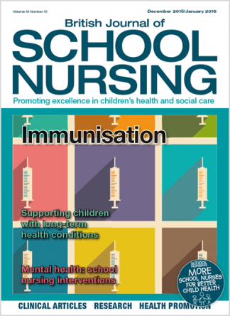 British Journal of School Nursing Magazine Subscription