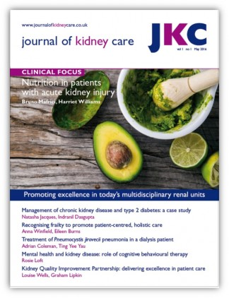 Journal of Kidney Care Magazine Subscription