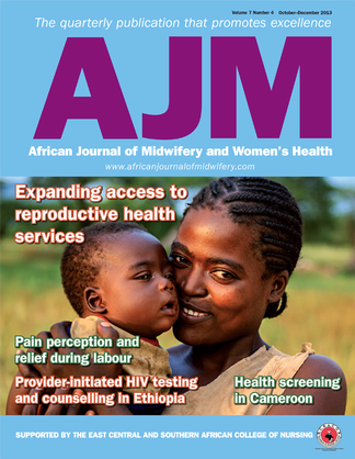 African Journal of Midwifery and Woman's Health Magazine Subscription
