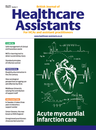 British Journal of Healthcare Assistants Magazine Subscription