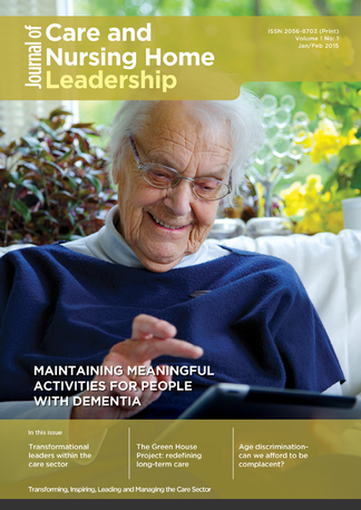 Journal of Care and Nursing Home Leadership Magazine Subscription