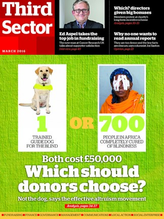 Third Sector Magazine Subscription