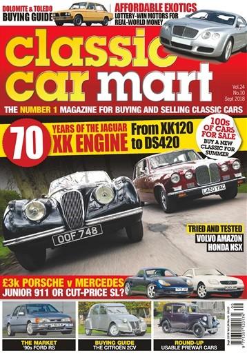 Classic Car Mart Magazine Subscription