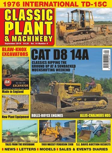 Classic Plant & Machinery Magazine Subscription