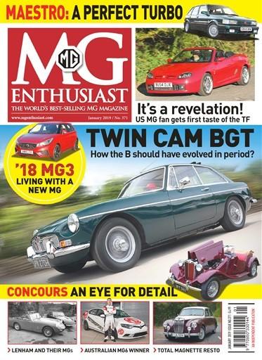 MG Enthusiast Magazine Subscription