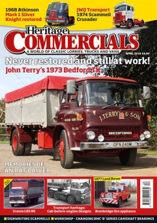 Heritage Commercials Magazine Subscription