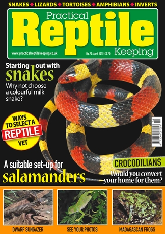 Practical Reptile Keeping Magazine Subscription