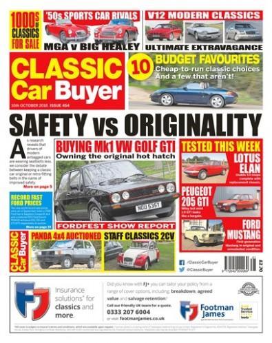 Classic Car Buyer Magazine Subscription