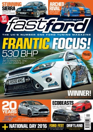 Fast Ford Magazine Subscription