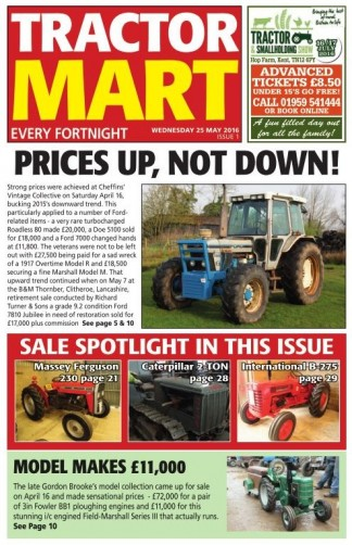 Tractor Mart Newspaper Subscription