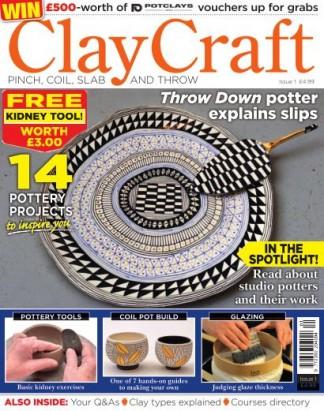 ClayCraft Magazine Subscription