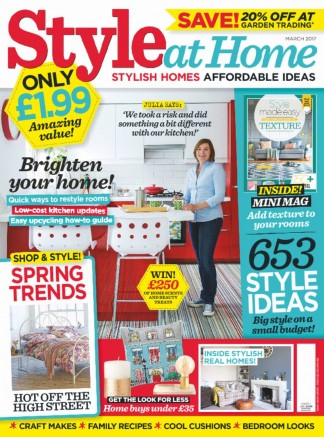 Style at Home Magazine Subscription