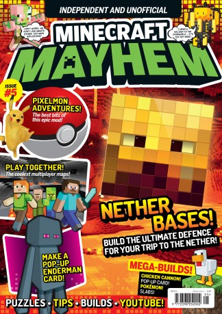 Minecraft Mayhem Magazine Subscription