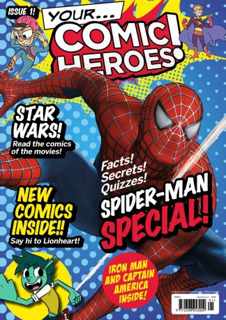 Your Comic Heroes Magazine Subscription