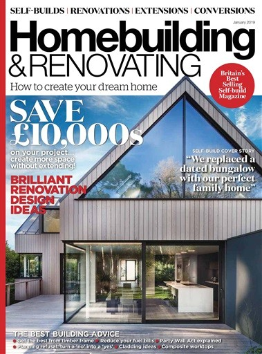 Homebuilding & Renovating Magazine Subscription