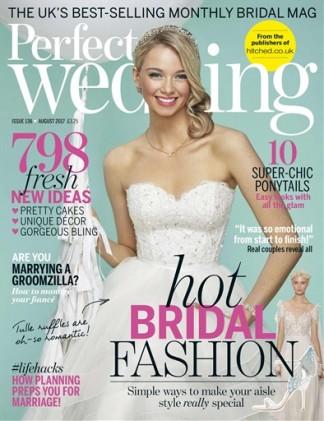perfect wedding magazine subscription