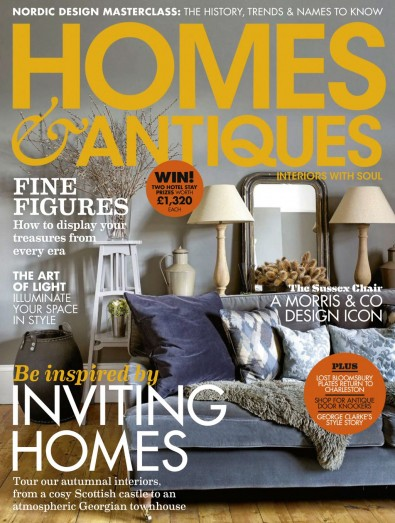 Homes & Antiques Magazine Subscription