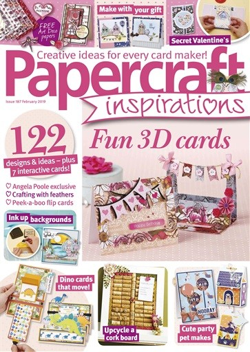 Made for Making Cards Magazine using the free papers My Cards