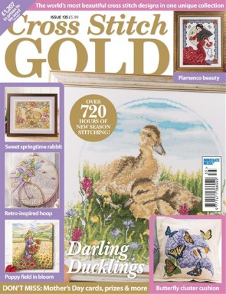 Cross Stitch Gold Magazine Subscription