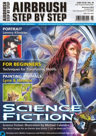 Airbrush Step by Step Magazine Subscription