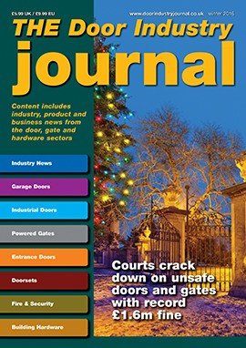 The Door Industry Journal Magazine Subscription