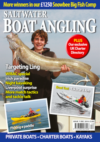 Saltwater Boat Angling Magazine Subscription