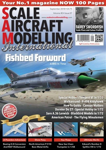 Scale Aircraft Modelling Magazine Subscription