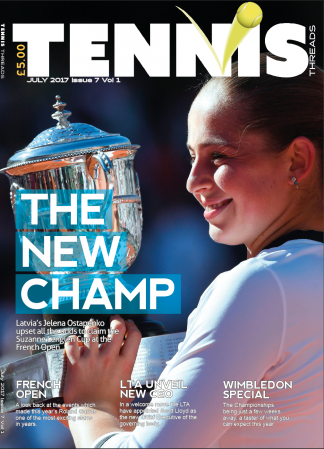 Tennis Threads Magazine Subscription