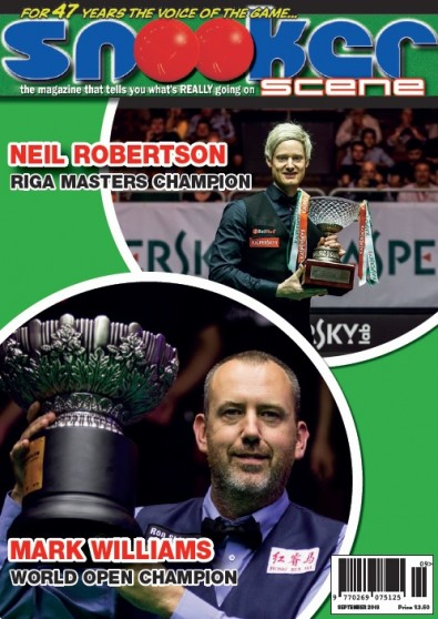 Snooker Scene Magazine Subscription